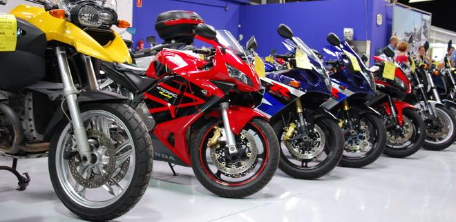 Bajan las ventas de motos y ciclomotores